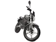Moped Eléctrica SS TS2